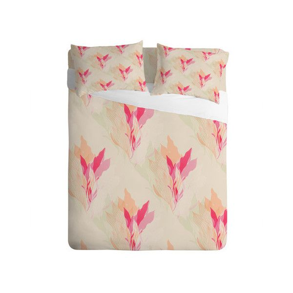 Aimee St Hill Coral 1 Sheet Set (655 BRL) ❤ liked on Polyvore featuring home, bed & bath, bedding, bed sheets, coral sheet set and coral bedding