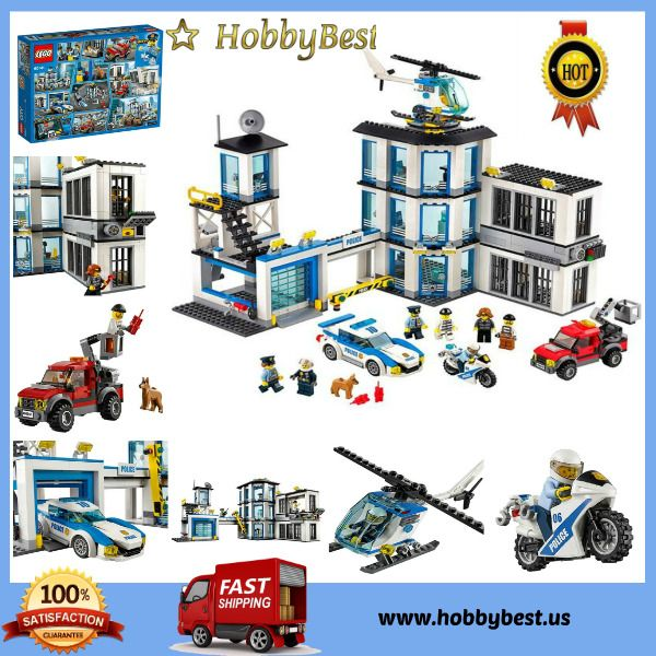 LEGO City Toys For Kids Three Level Police Station Building Blocks Toys Kit | Toys & Hobbies, Building Toys, LEGO | eBay!