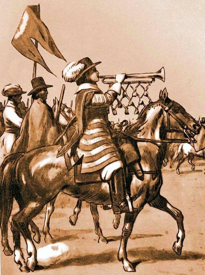 Dragoons approx. 1660. Fig. B. Gembarzewski.
