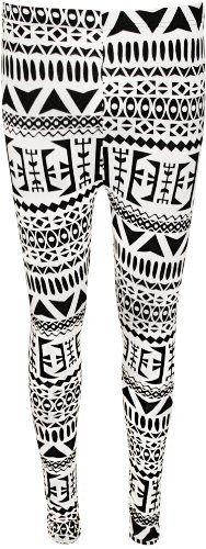 WearAll - Damen aztekenmuster tribal schwarz weiß hosen lange leggings - Schwarz & Weiß - 36-38 WearAll http://www.amazon.de/dp/B00CMRKW9S/ref=cm_sw_r_pi_dp_EZvTvb1H4GSMQ
