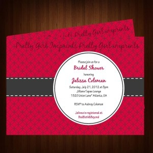 Invitations Bridal Shower with adorable invitation layout
