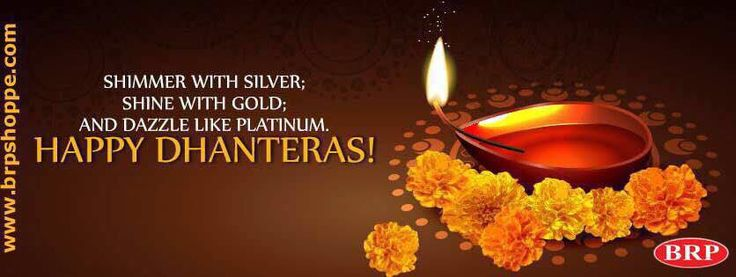 BRP Pipes and Fittings Wishes a Happy Dhanteras to Everyone.