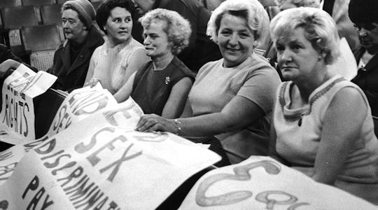 The #Dagenham Ford strike in 1968 was a turning point in earning women equal pay on the job, the #world over...these ladies are amazing...