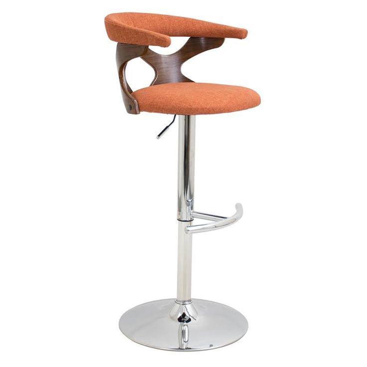orange adjustable bar stools - Google Search