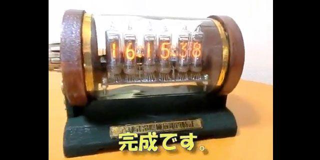 これぞ匠の技! スチームパンク感あふれるニキシー管時計の作り方(動画あり) - エキサイトニュース