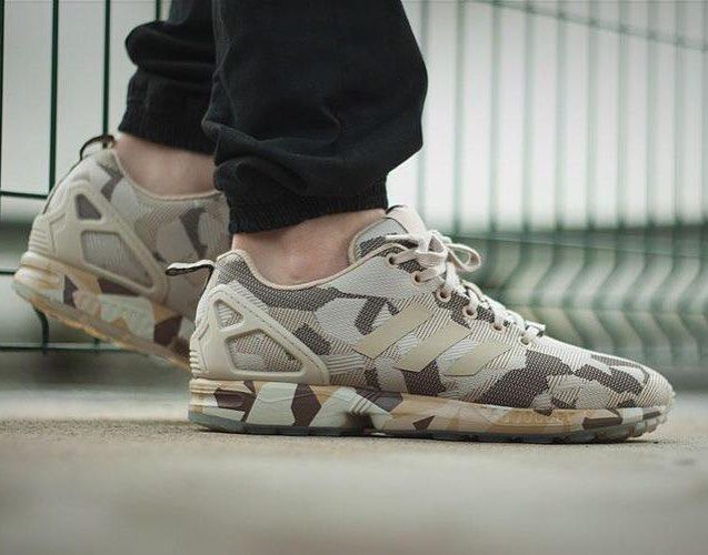 @adidas ZX Flux camo brown . #ineedthis [ http://ift.tt/1f8LY65 ] -------- Follow @royalfashionistluxury
