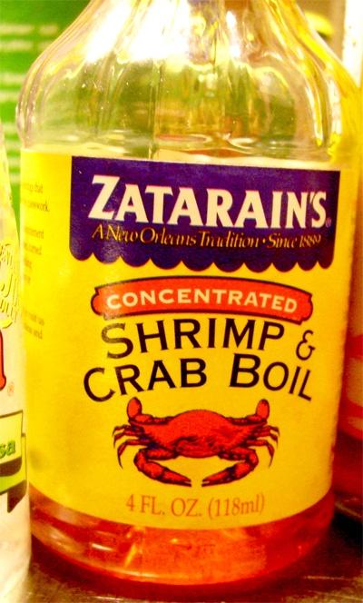 Zatarains....Shrimp & Crab boil