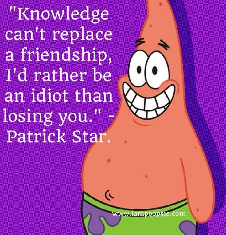 spongebob quotes about friendship