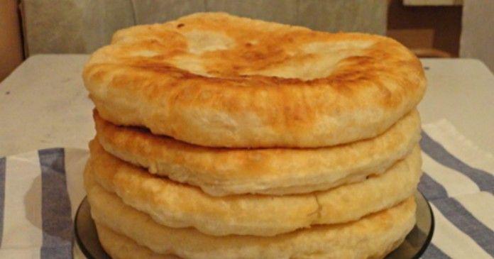 С этим рецептом забудешь, что такое хлеб! Пушистые лепешки на кефире: вкусно и быстро | Dusea.ru | Первый женский