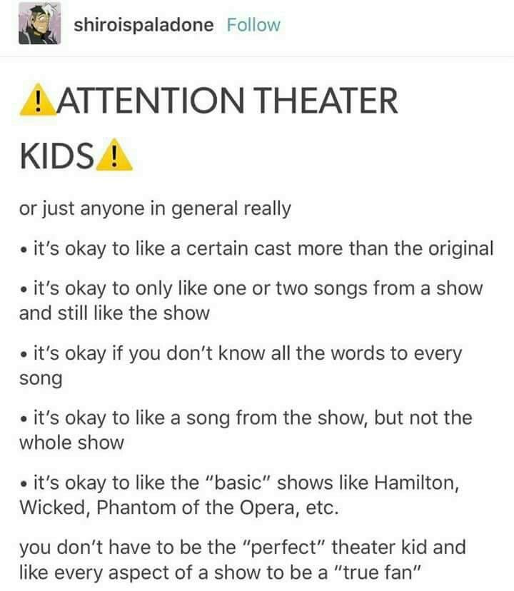 Best Theatre Memes Images On   Musical Theatre