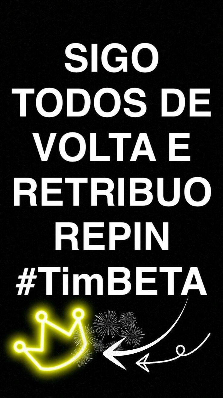 #Timbeta #betaajudabeta