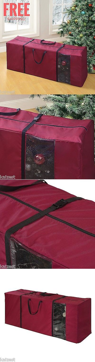 Storage Bags 43504: Christmas Tree Bag High Quality Storage Box Decorations Heavy Duty Organizer New -> BUY IT NOW ONLY: $38.44 on eBay!