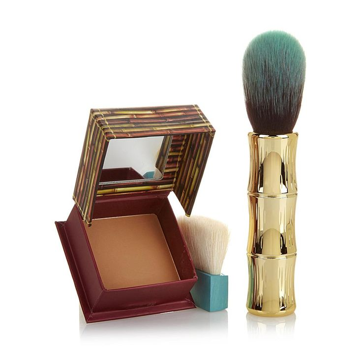Benefit Cosmetics Benefit Hoola Box O' Powder with Brush