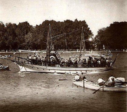 Estanque del Retiro (1920)