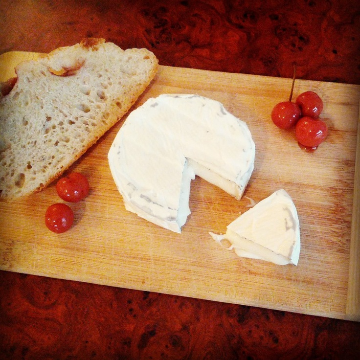 Bumpercrop's twisted Cherries at Monforte on Jefferson. One awesome cheese maker and shop.
