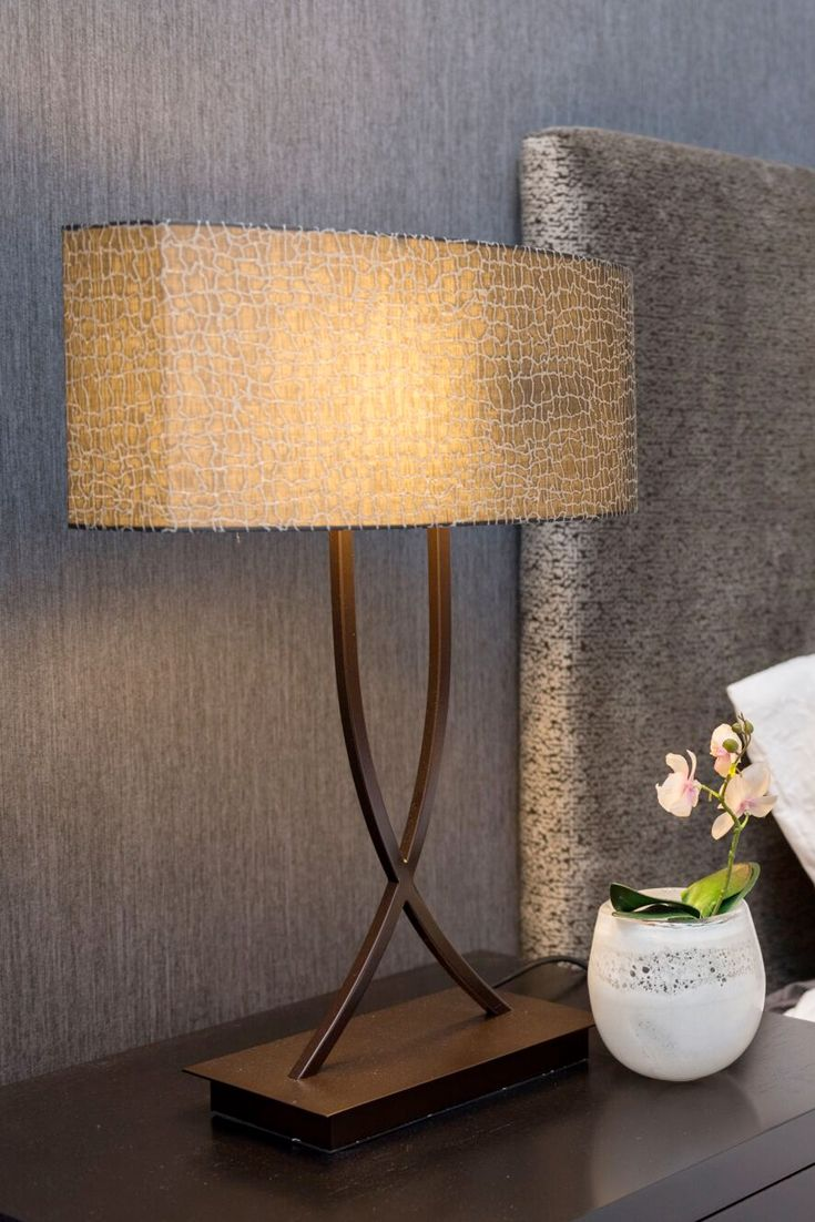 Bloomingdale bedside table lamps, the perfect addition for large bedrooms and master bedrooms.