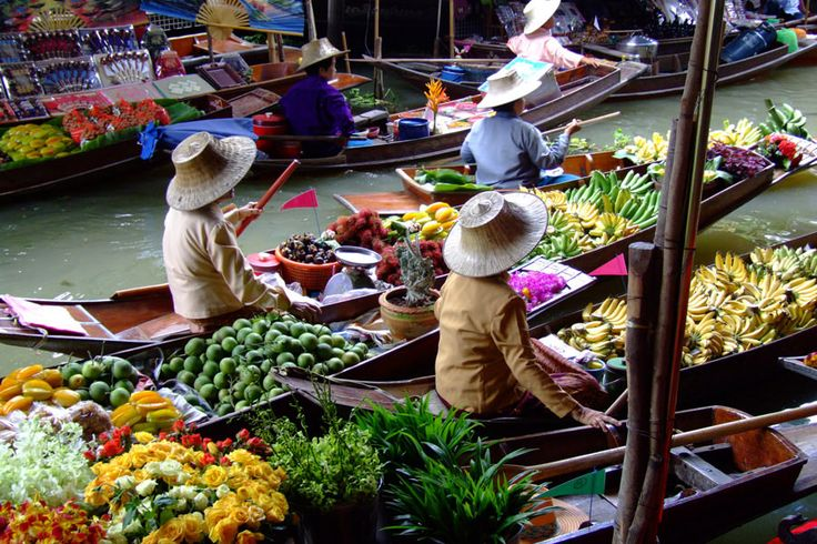 While it is not a night market the Floating Markets are a must visit