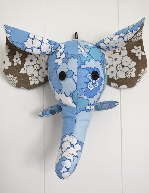 elefanthode på veggen :)
