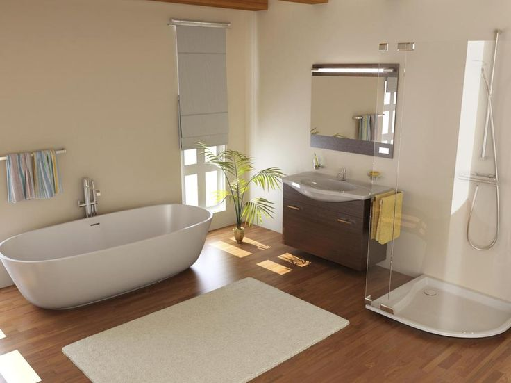 Salle de bain cosy
