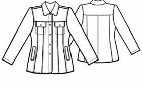 example - #5158 Jean Jacket