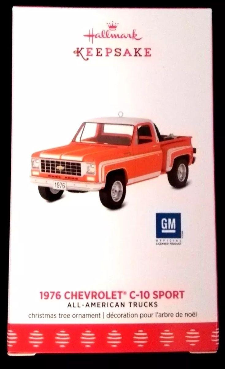 2017 Hallmark 1976 Chevrolet C-10 Sport Ornament 23 All American Trucks  Pickup