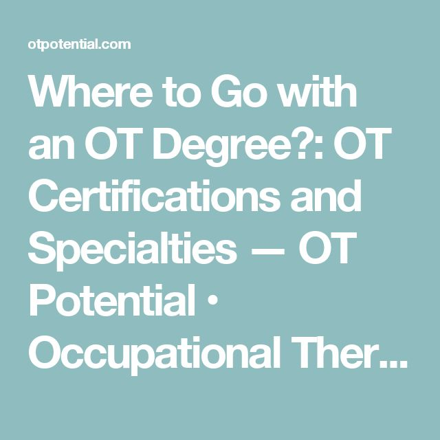 The 25+ best Occupational therapy degree ideas on Pinterest - occupational therapy resume