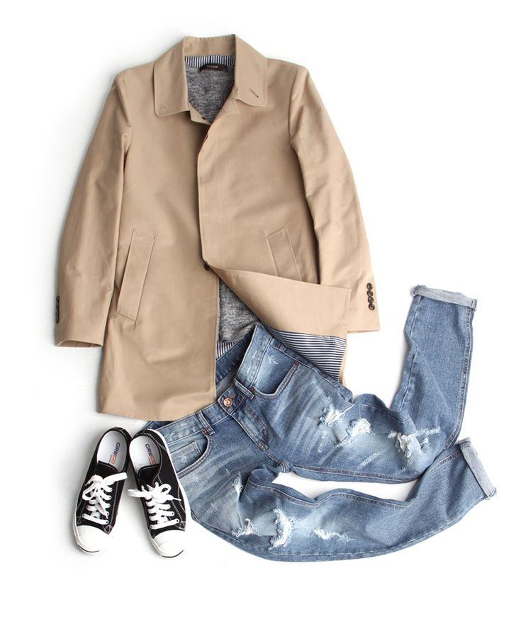 슬림일자핏 찢어진 청바지-jean14 - [존클락]30대 남자옷쇼핑몰, 깔끔한 캐쥬얼 데일리룩, 추천코디