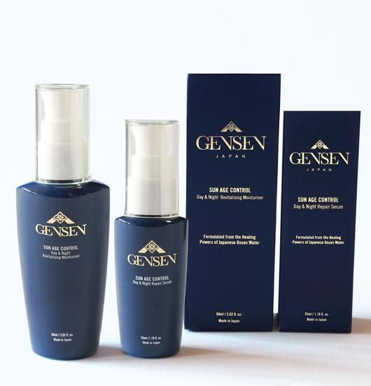 The Sun Age Control set includes a 35ml Day & Night Repair Serum and 60ml Day & Night Revitalising Moisturiser for beautiful healthy skin.  With powerful protection and the ability to turn back the clock on your skin. GENSEN promises youthful more radiant skin.