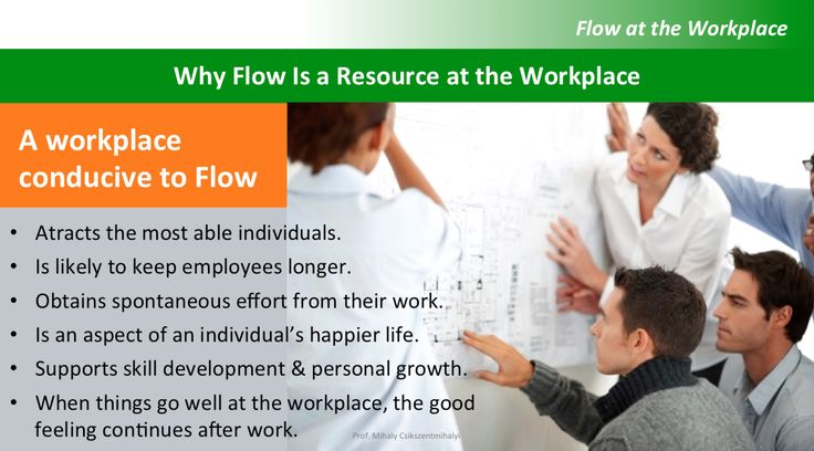 A Workplace Conducive to Flow – Leadership & Flow