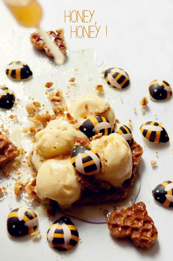 17 meilleures id es propos de recette de gaufrettes la - Faire sa glace maison sans sorbetiere ...