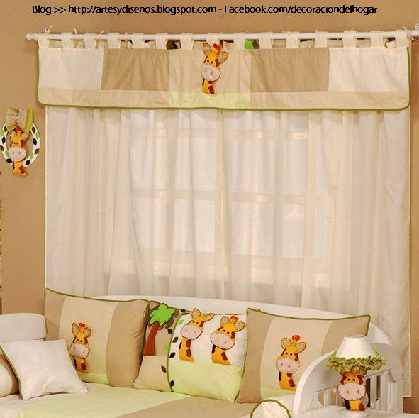cortinas para dormitorios de bebes by