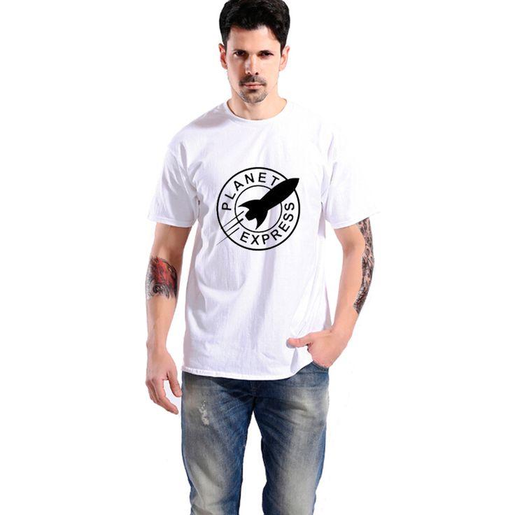 2017 Summer New Fashion Futurama PLANET EXPRESS Casual T-Shirts Men Tee men women 100% cotton cool tshirt //Price: $14.55 & FREE Shipping //     #hashtag2