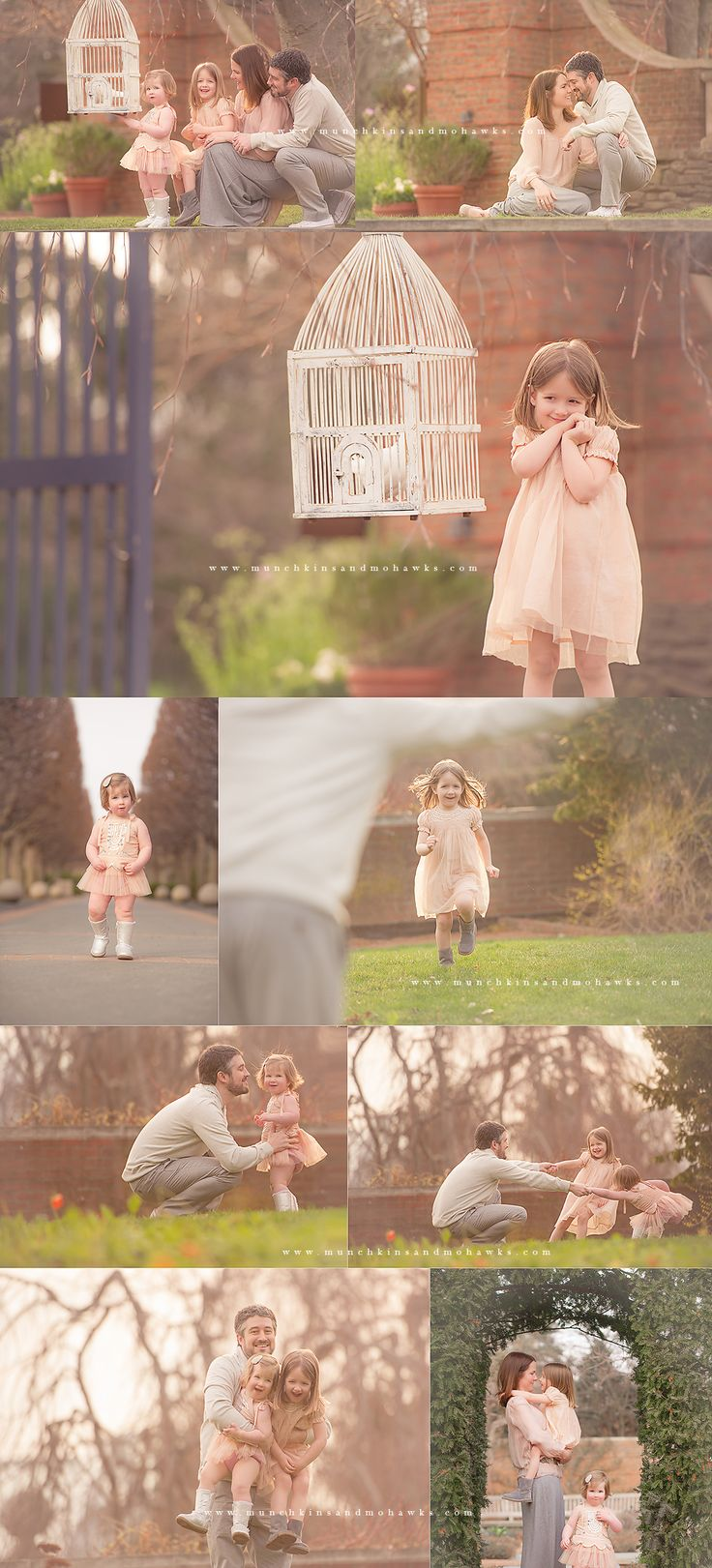 Spring and doves <3  Chicago Child and Family Photographer