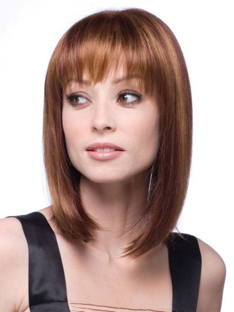 76 best Hair Styles for Thin Straight Hair images on