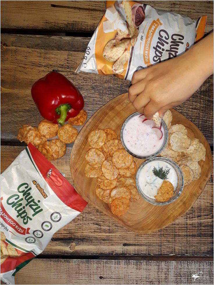 Dwa lekkie dipy i Chyży Chips PanSnack, czyli pomysł na zdrową przekąskę