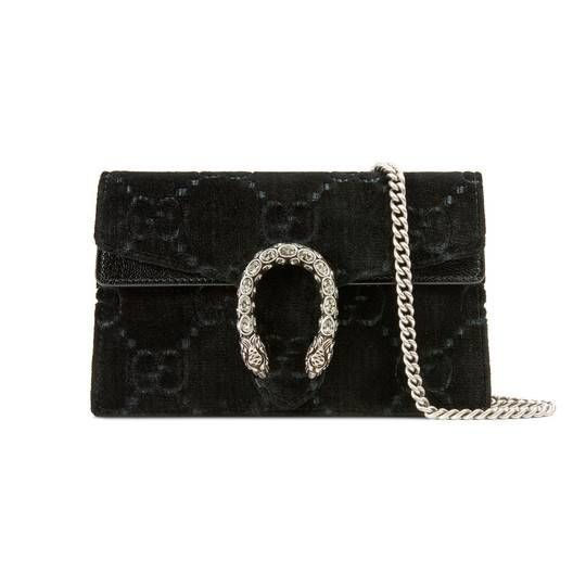47ee6ad9 Dionysus Super-Mini-Tasche aus GG Samt | Bags, shoes, etc | Mini bag ...