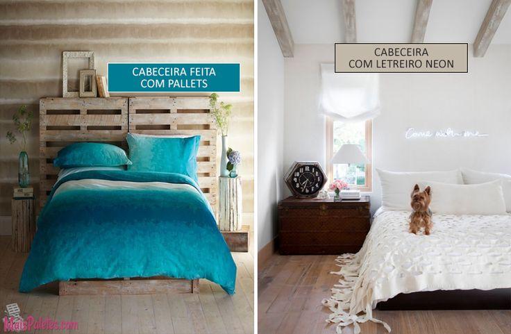 10 cabeceiras de cama criativas - Casinha Arrumada