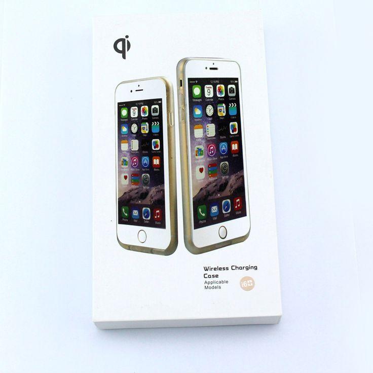 """Лучший продукт из Китая - купить """"200пк/лот передатчик беспроводной приемник зарядное устройство беспроводной зарядки Чехол для беспроводной приемник чехол для iPhone 6"""" высокое качество"""" всего за 2457.62 долларов США."""