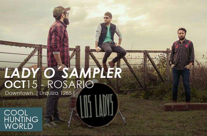 """Prensa Lady O Sampler show presentación de disco """"Welcome to los señoritas"""" Octubre 2016"""