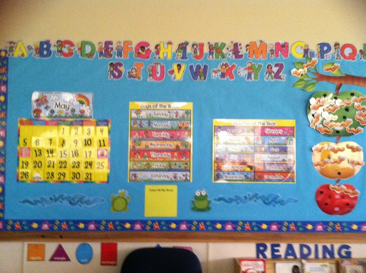 Kindergarten Calendar Board : Images about circle time bulletin board ideas on
