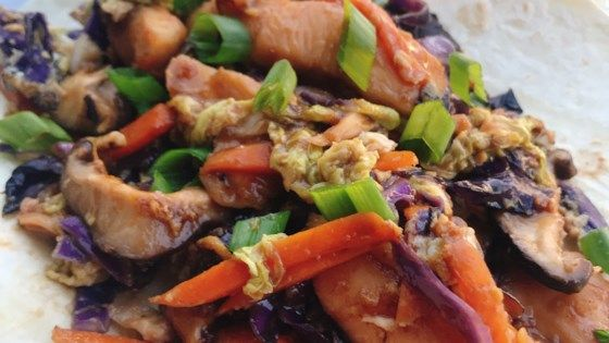 moo shu chicken with mandarin pancakes  recipe  mandarin
