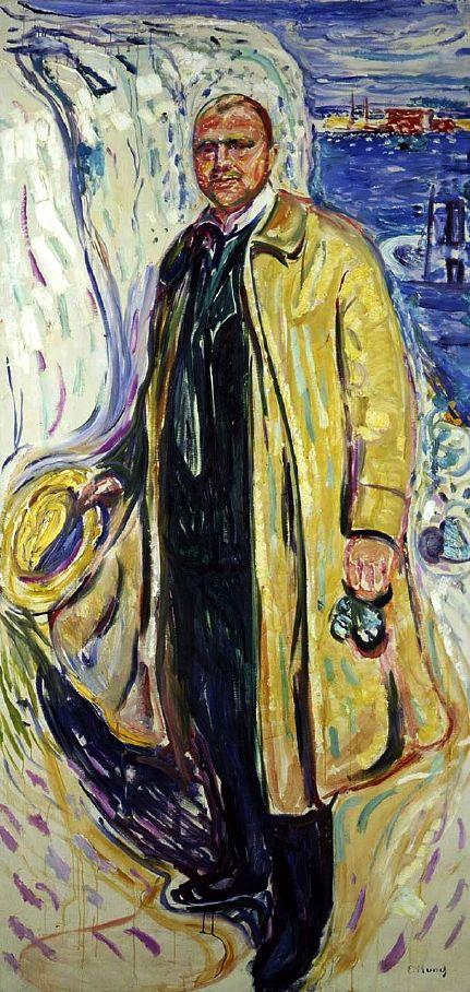 Edvard Munch - Christian Gierlöff, Author, 1909 (Norwegian, 1863 - 1944)