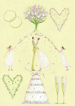 Roger la Borde | Greeting Card by Mary Claire Smith (GC 1482)