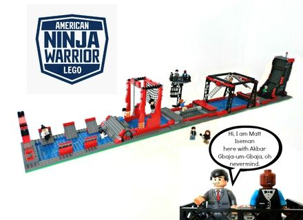 I present: Lego American Ninja Warrior! Do you want to see this model become an actual Lego set? Then please help me get to 10,000 supporters by clicking the support button! B...