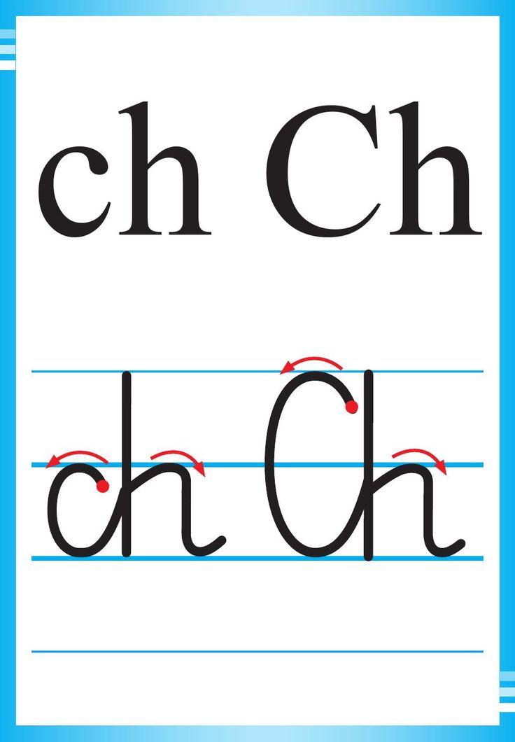 Alfabet polski, pisany dla dzieci do druku 8