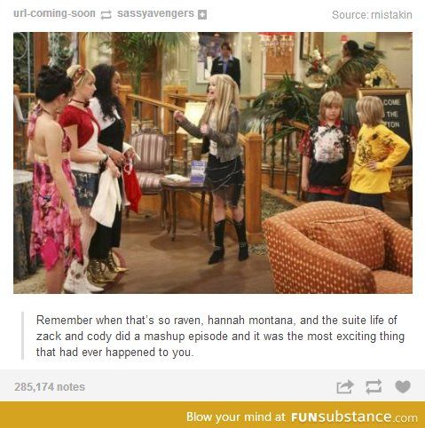 It will forever remain as the best episode of anything ever on Disney Channel