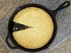 Here's a great recipe to make old southern cornbread; it uses lots of cornmeal, just a little flour, and buttermilk with no sugar.