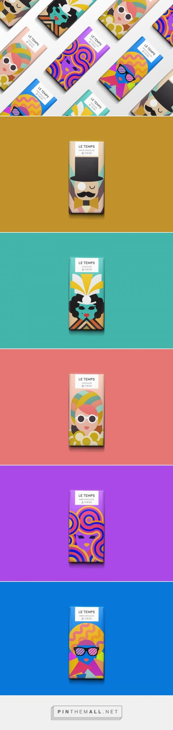 Le Temps Chocolate packaging design concept by Meeta Panesar - https://www.packagingoftheworld.com/2018/03/le-temps-chocolate.html