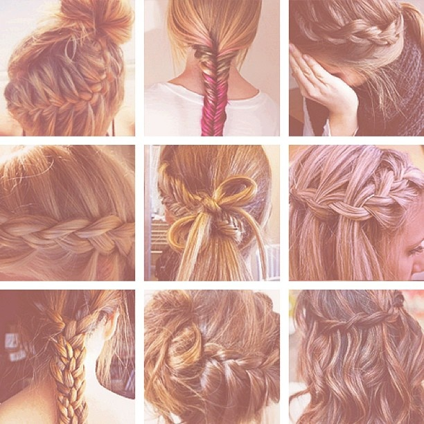 Outstanding 1000 Ideas About Types Of Braids On Pinterest Hair Coloring Hairstyles For Women Draintrainus