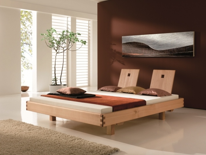 25 Best Ideas About Modern Wood Bed On Pinterest
